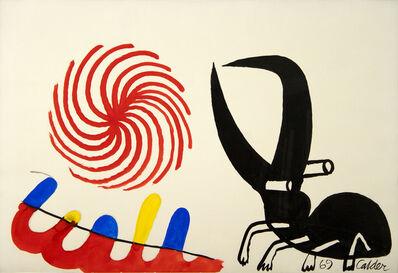 Alexander Calder, 'Bug-Eyed Beastie', 1969