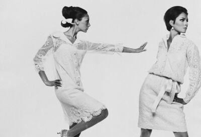 Bert Stern, 'Marisa Berenson and Jennifer O'Neill, VOGUE', 1965
