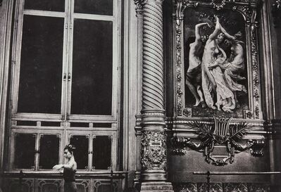 Jeanloup Sieff, 'Dans le foyer de l'Opéra (Paris)'