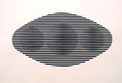 Manuel Espinosa, 'Untitled from the series Op. Oval Redondeado', 1968