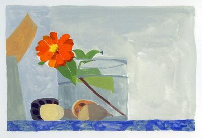 Sydney Licht, 'Still Life with Zinnia', ca. 2015