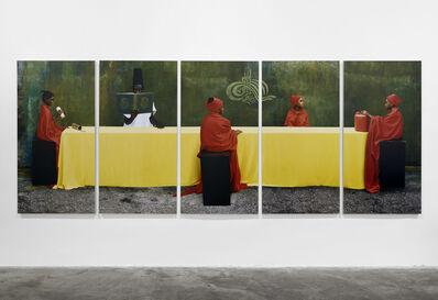 Maïmouna Guerresi, 'Students and Teacher', 2012