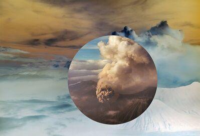 Meridel Rubenstein, 'Mt. Bromo from Above, Encircled, East Java, Indonesia', 2011