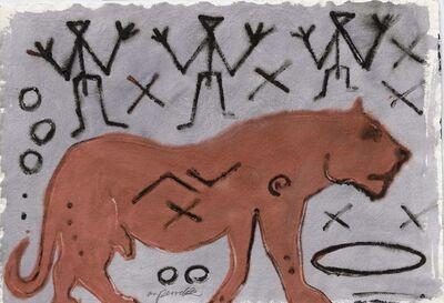 A.R. Penck, 'Ohne Titel', 1991
