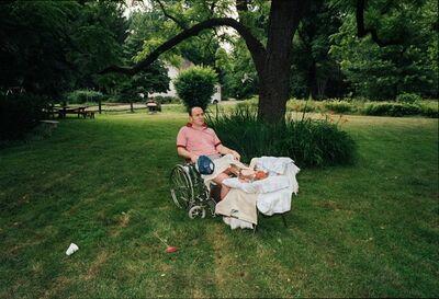 Doug DuBois, 'My Father in the Backyard, Far Hills, New Jersey', 1985