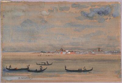 Arthur Bowen Davies, 'Gondolas', date unknown