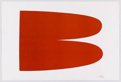 Ellsworth Kelly, 'Red Orange III.3', 1964