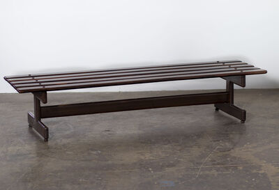 FATIMA ARQUITETURA E INTERIORES, 'Brazilian Rosewood Bench ', 1960