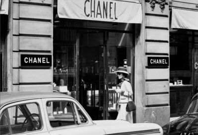 Douglas Kirkland, 'Coco Chanel, Enters Atelier at 31 Rue Cambon Paris 1962', 1962