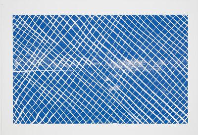 Andrea Büttner, 'Grid (blue)', 2012