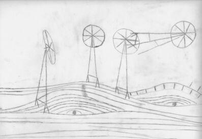 Dirk Zoete, 'Windmills and Landscape I', 2018