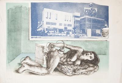 """Antonio Berni, ' Untitled (No. 12). De la serie """"La Obsesión de la Belleza"""" ', ca. 1976"""