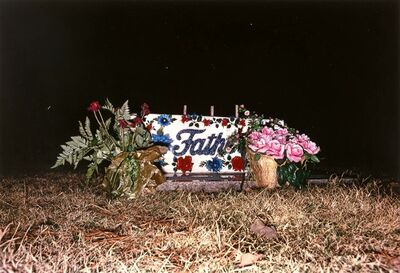 William Eggleston, 'Untitled [Father's Grave]', 1974