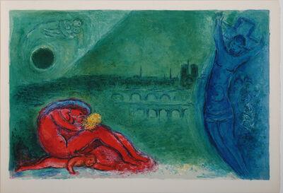 Marc Chagall, 'Quai de la Tournelle', 1960