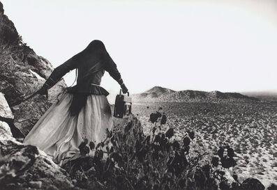 Graciela Iturbide, 'Mujer ángel, Desierto de Sonora, México (Angel Woman, Sonora Desert, Mexico)', 1979