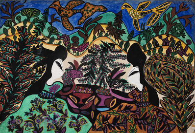 Baya, 'Femmes', 1964