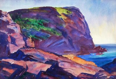 Emil Bisttram, 'The Cliff- Monhegan', 1925
