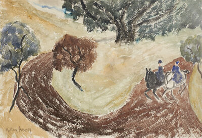 Milton Avery, 'Riders in the Park', c. 1930
