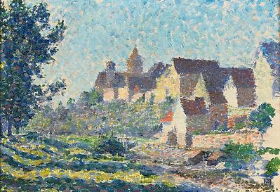 Théo van Rysselberghe, 'Village Roofs'