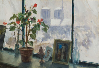 John Whorf, 'View through the Window, Paris', 20th Century