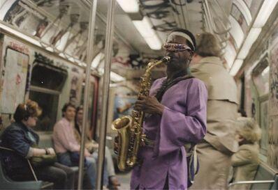 Jamel Shabazz, 'Saxophone Man, Brooklyn, NYC', 1985