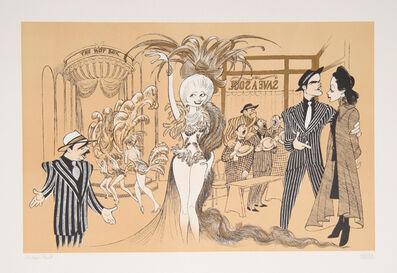 Al Hirschfeld, 'Guys and Dolls', ca. 1990