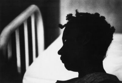 W. Eugene Smith, 'Silhouette of Patient in Trance, Haiti', 1959