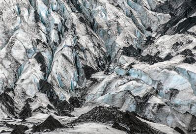 Arnold Zageris, 'Volcanic Ash on Glacier ', 2018