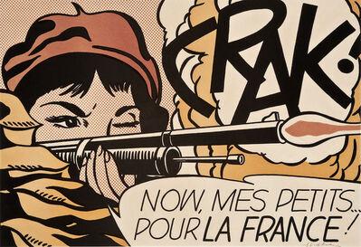 Roy Lichtenstein, 'Crak!', 1963/1964