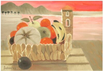 Mary Fedden, 'Still Life with Bowl of Fruit', 2003