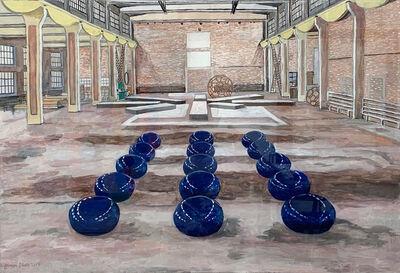 Damian Elwes, 'Ai Wei Wei's Studio in Beijing', 2019