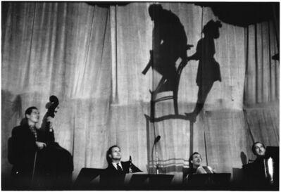 Elliott Erwitt, '4. France. Paris. (Balancing act)', 1952