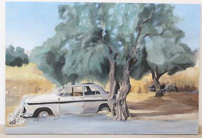 Johny Andonia, 'Olive Tree by the Road', 2015