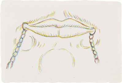 Kiki Smith, 'Untitled (Lips)', 1994
