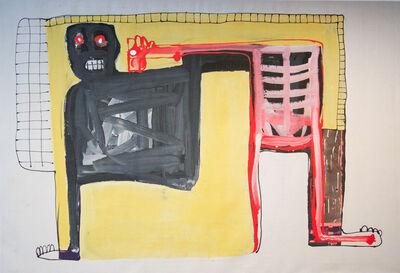 Amadou Sanogo, 'Humain et animal', 2016