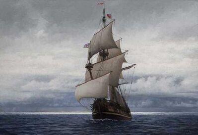 Guillermo Muñoz Vera, 'English ship in the South Seas', 210