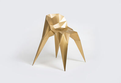 Zhoujie Zhang, 'Spider Chair (SQN1-F2C) Brass', 2014