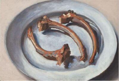 Guy de Malherbe, '3 côtes sur une assiette', 2019