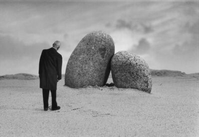 Gilbert Garcin, 'Les amoureux de Perros-Guirec - The Lovers of Perros-Guirec', 2001