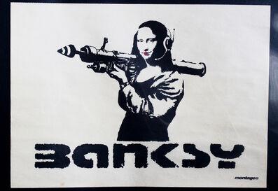 Banksy, 'Mona Bazooka Promo Poster', 2002