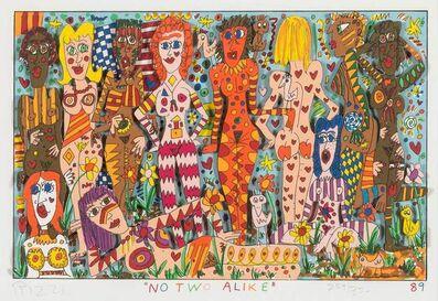 James Rizzi, 'NO TWO ALIKE', 1989