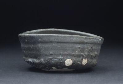 Shiro Tsujimura, 'Kuro-Oribe Chawan', 2007