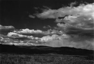 Alma Lavenson, 'Clouds Near Mono Lake', 1941