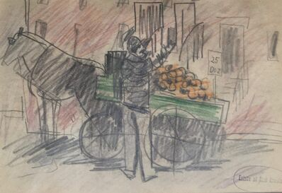 Karl Knaths, 'Fruit Peddler', 1922