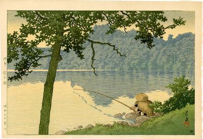 Kawase Hasui, 'Lake Matsubara, Shinshu', 1941