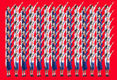 Mina Cheon, 'Happy North Korean Children 1-1', 2015