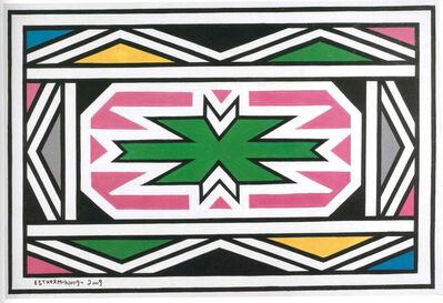 Esther Mahlangu, 'Untitled ', 2009