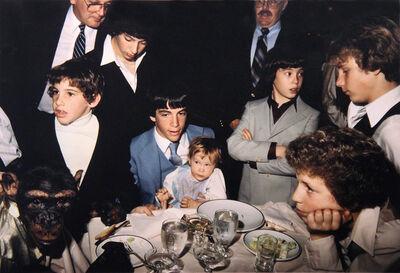 Jeff Mermelstein, 'Zippy the Chimp at Bar Mitzvah', 1982