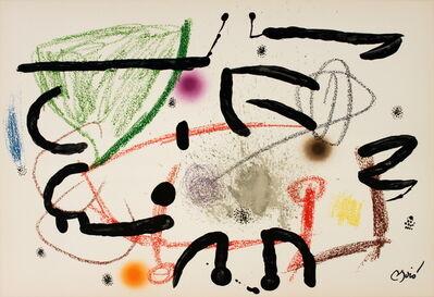 Joan Miró, 'Maravillas #1067', 1975