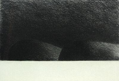 Mark Strand, 'Two Dark Islands', 1998